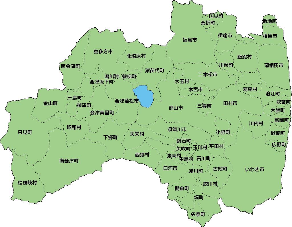 福島県地図